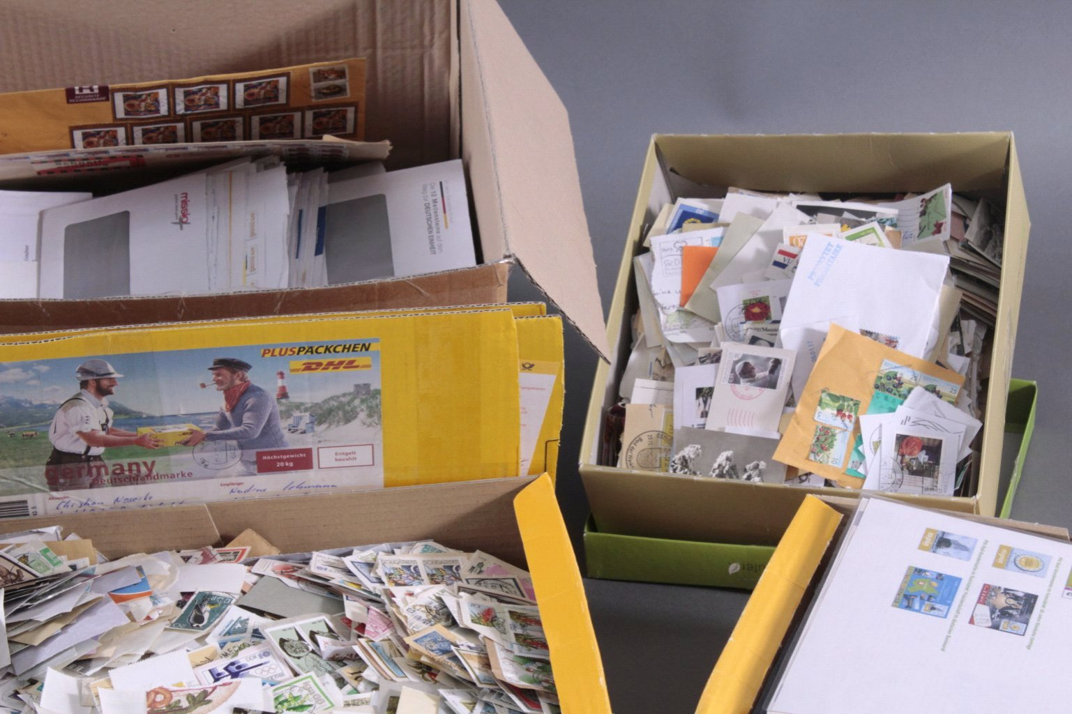 Briefmarken und Belege Nachlass-3
