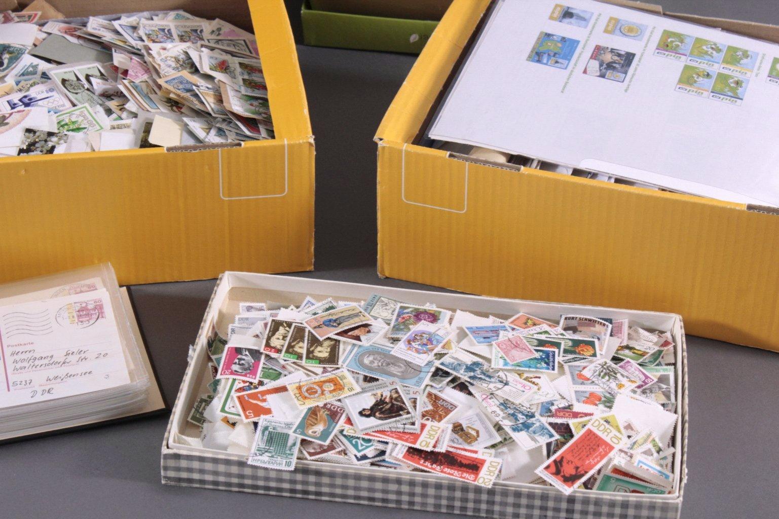 Briefmarken und Belege Nachlass-4