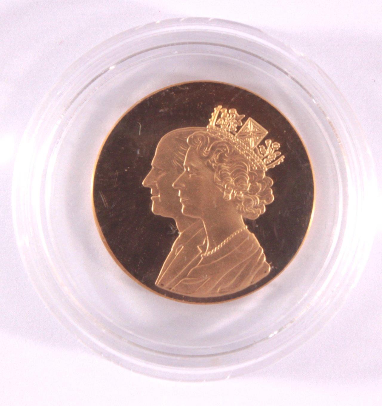 Goldmedaille Elisabeth II