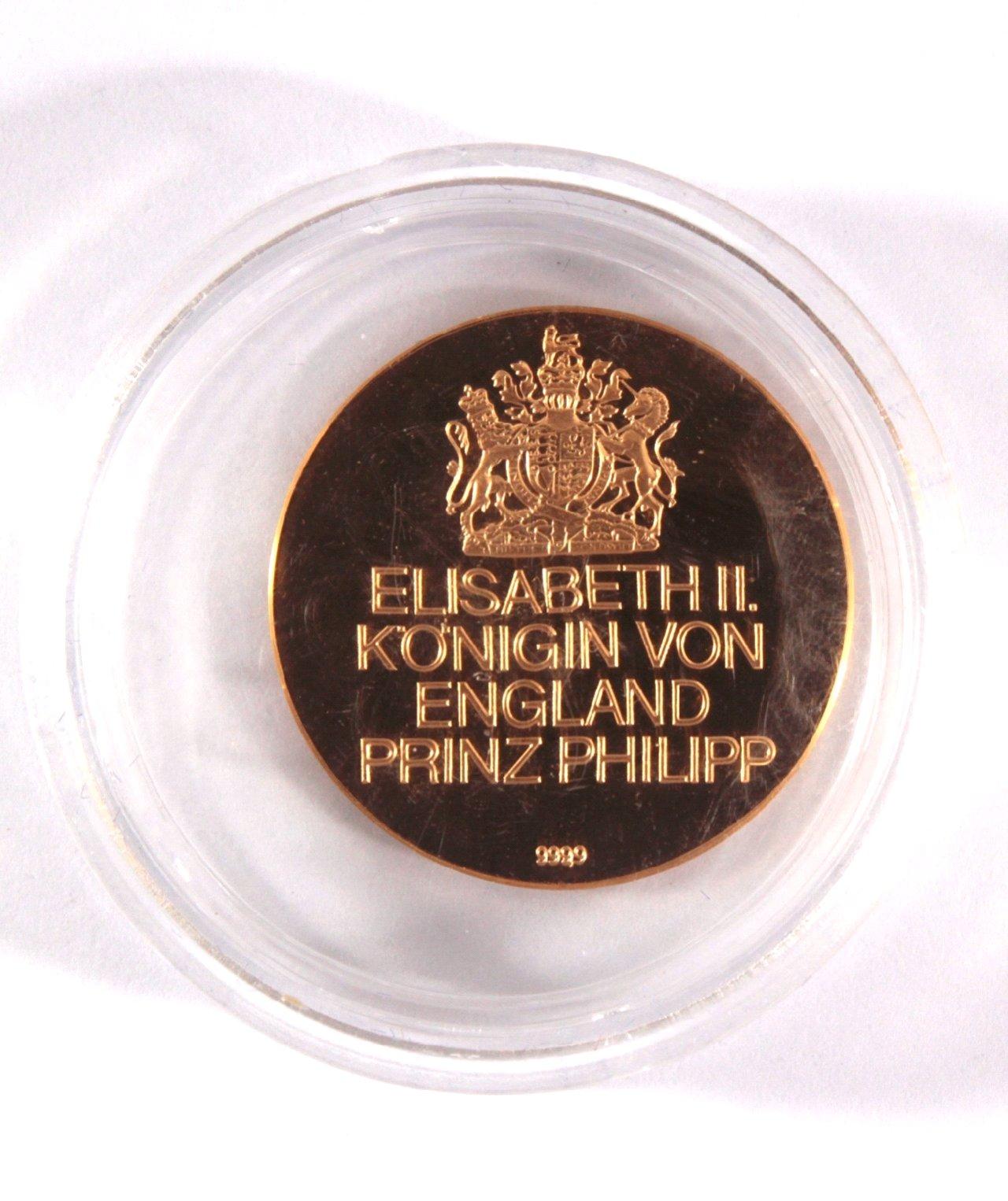 Goldmedaille Elisabeth II-1