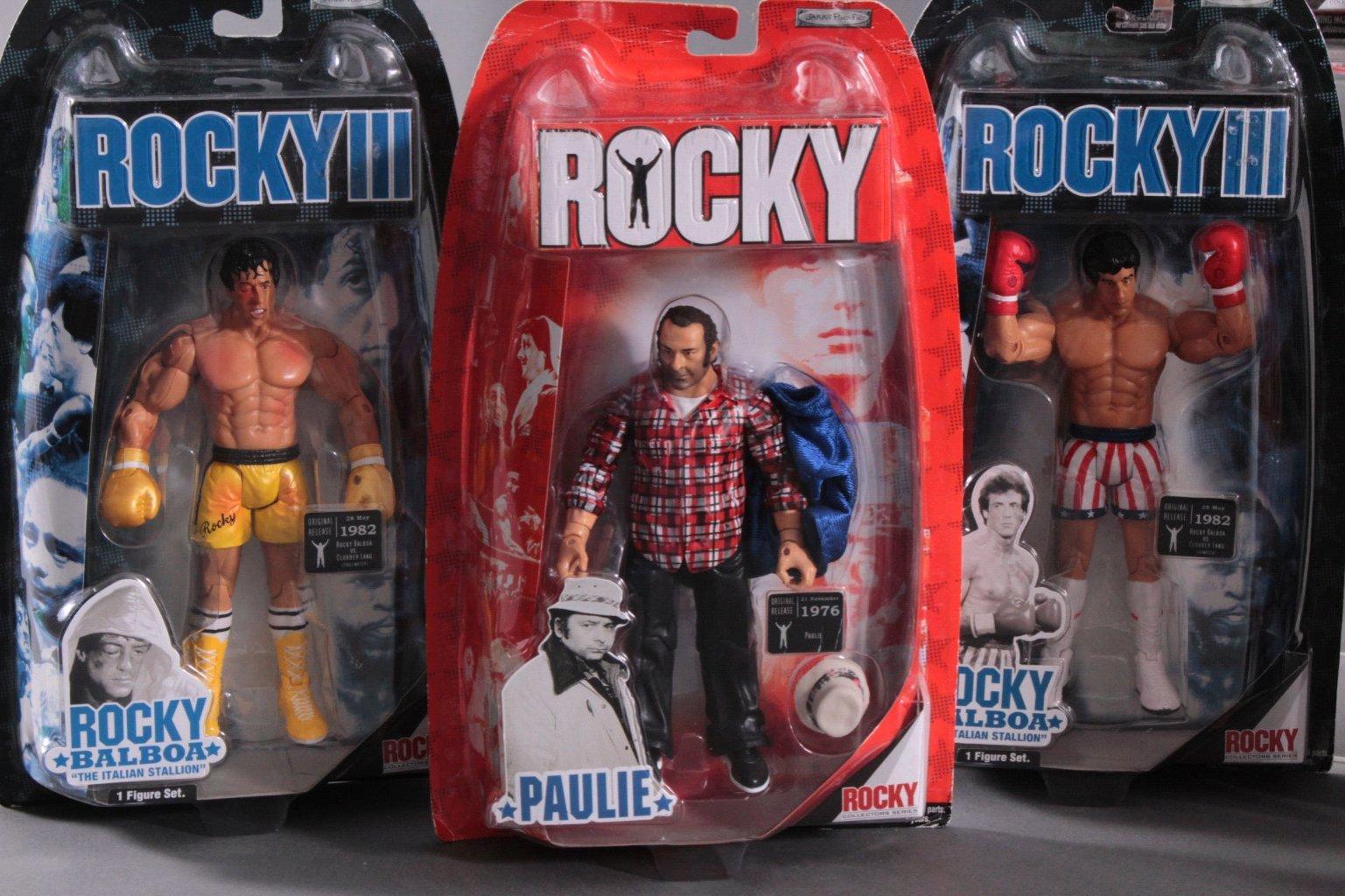 Rocky und Rocky III Action Figuren 8- Stück-1
