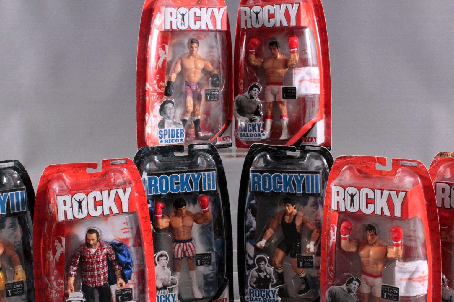 Rocky und Rocky III Action Figuren 8- Stück-2