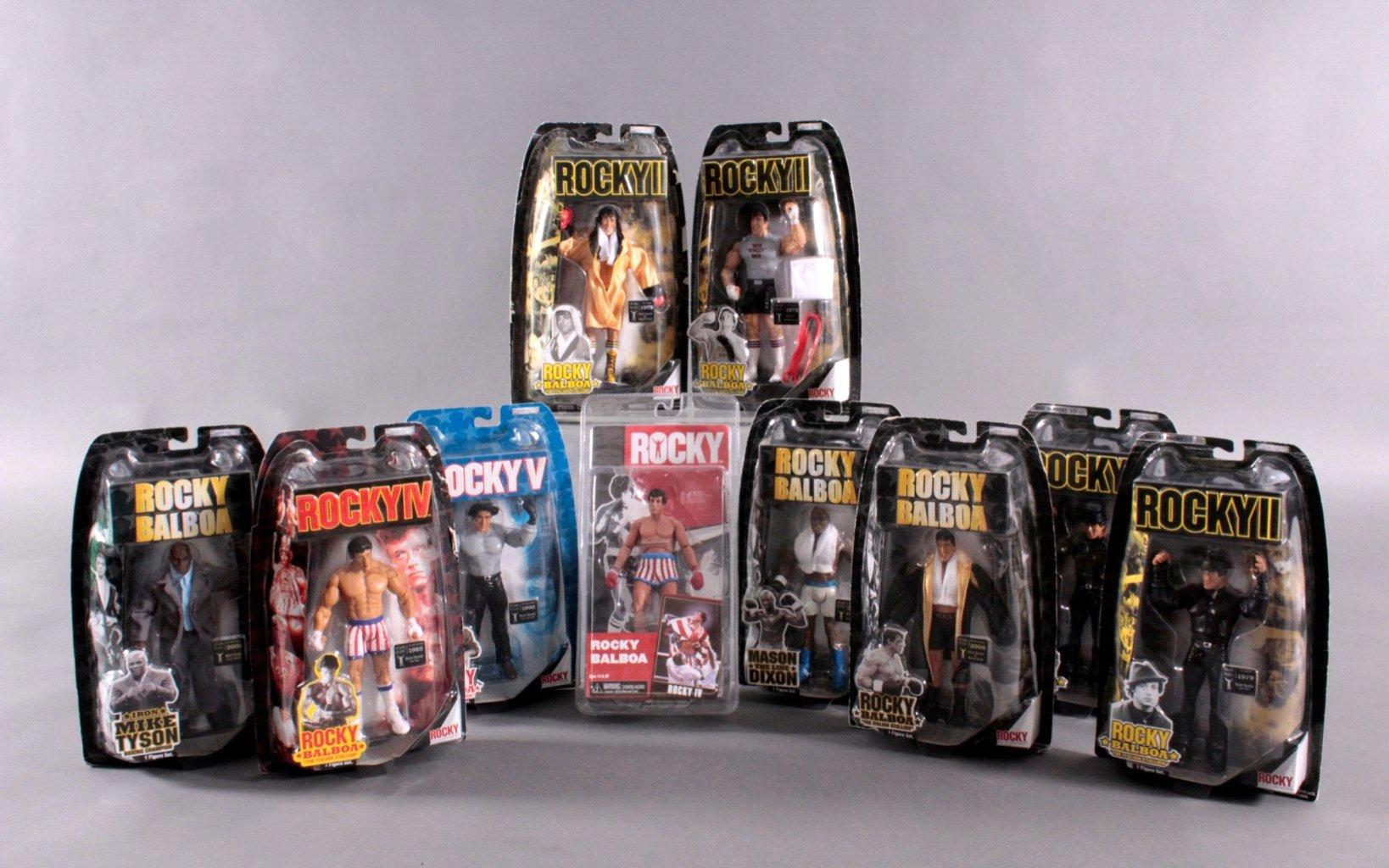Rocky II und Rocky IV Rocky Balboa Action Figuren 10 Stück
