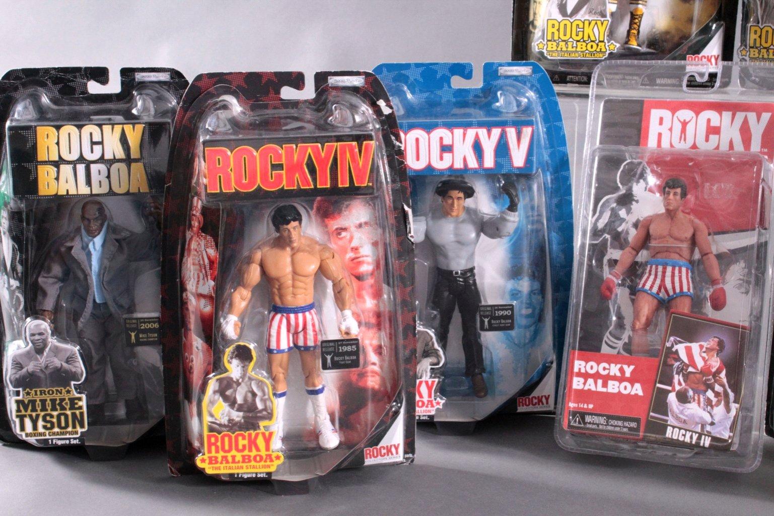 Rocky II und Rocky IV Rocky Balboa Action Figuren 10 Stück-3