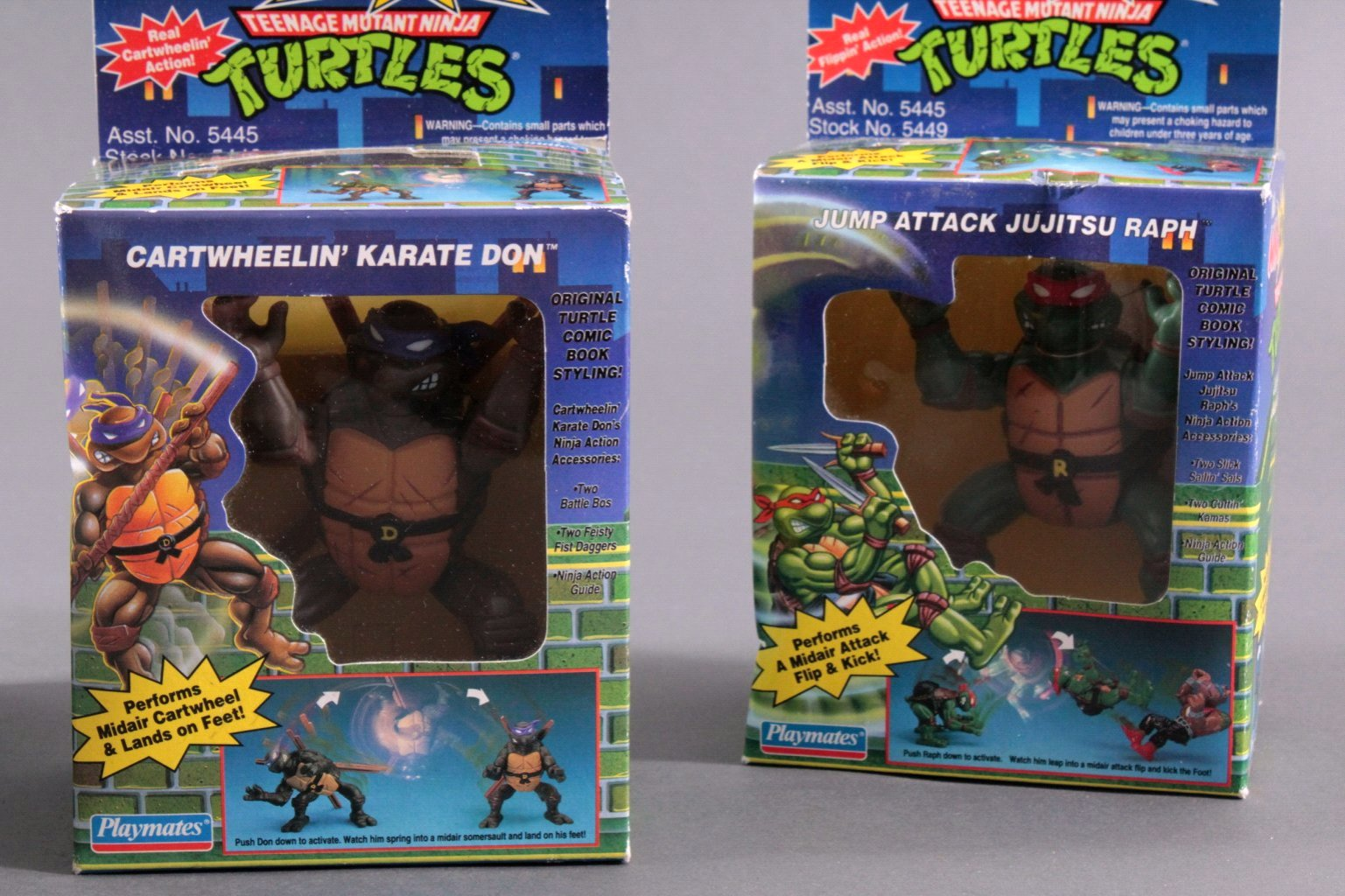 NINJA TURTLES Ninja Action Figuren 4 Stück-2