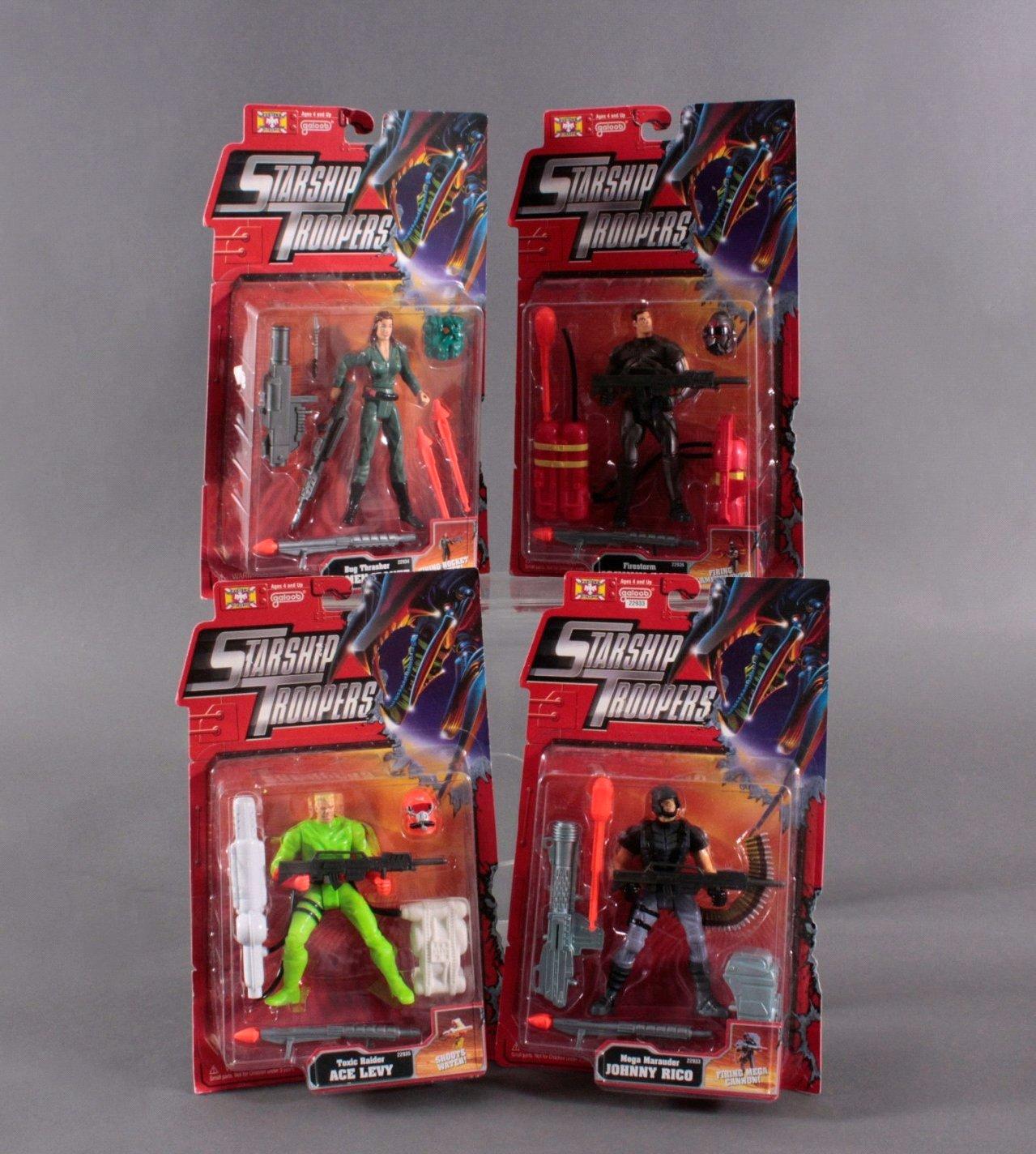 Starship Troopers Action Figuren 4 Stück