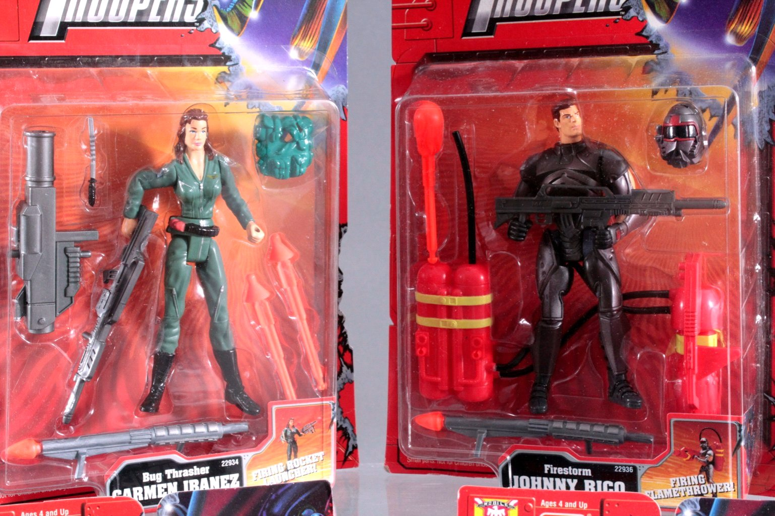 Starship Troopers Action Figuren 4 Stück-1
