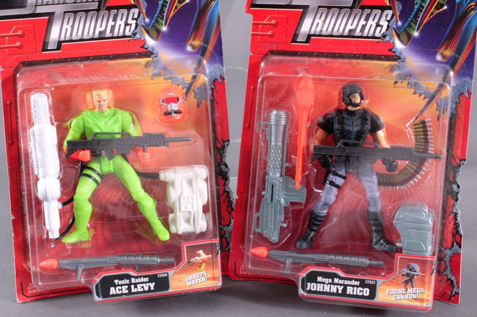 Starship Troopers Action Figuren 4 Stück-2