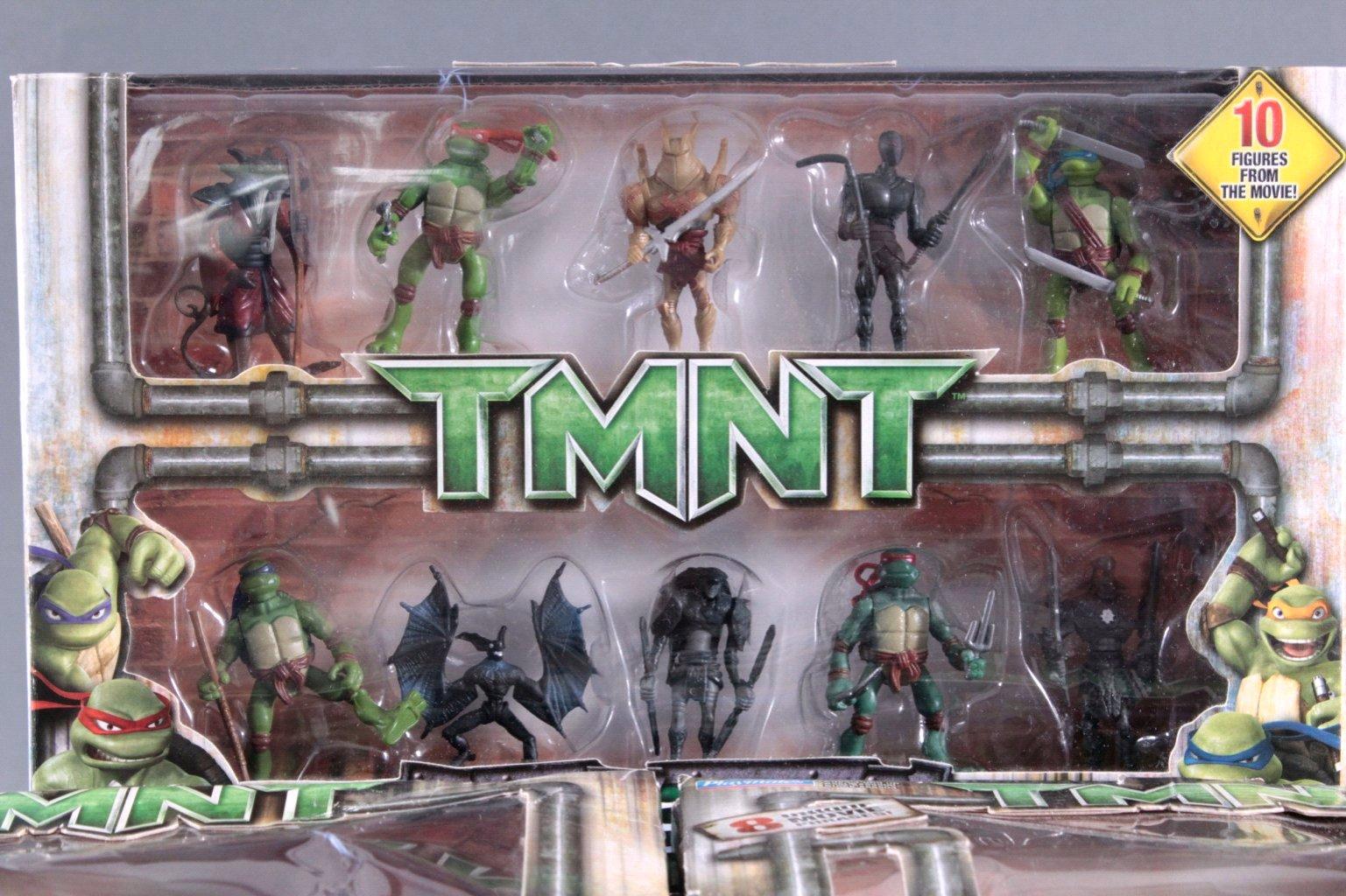 Teenage Mutant NINJA TURTLES 7 Teile-2