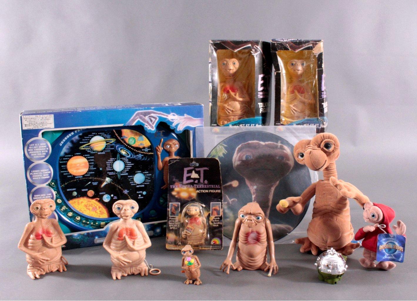 E.T. The Extra- Terrestrial – Figuren und Zubehör 7 Teile