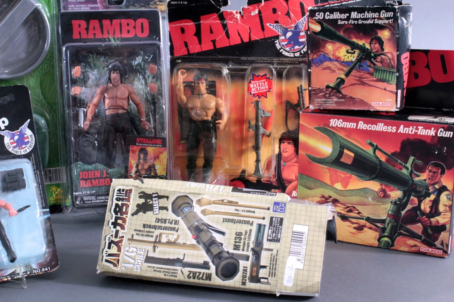 RAMBO –  Figuren und Zubehör 12 Teile-2