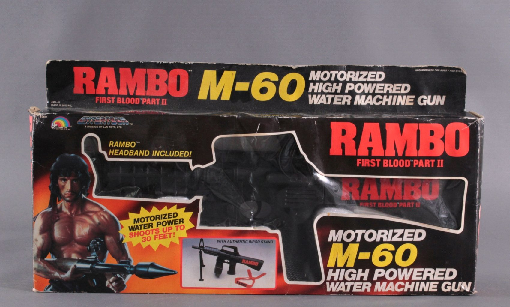 RAMBO – M-60 Motorized High Powered Water Machine Gun