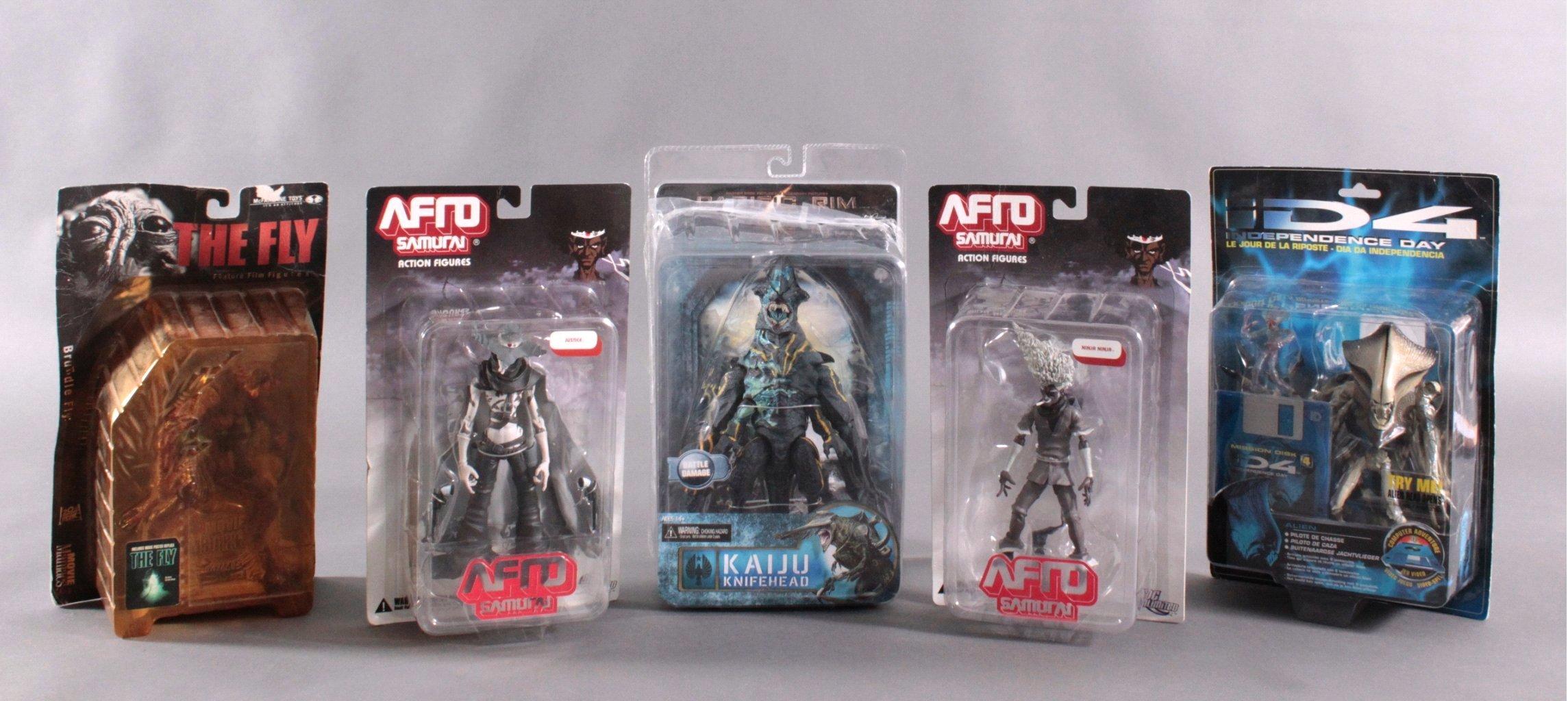Konvolut Action Figuren und Aliens 5 Stück