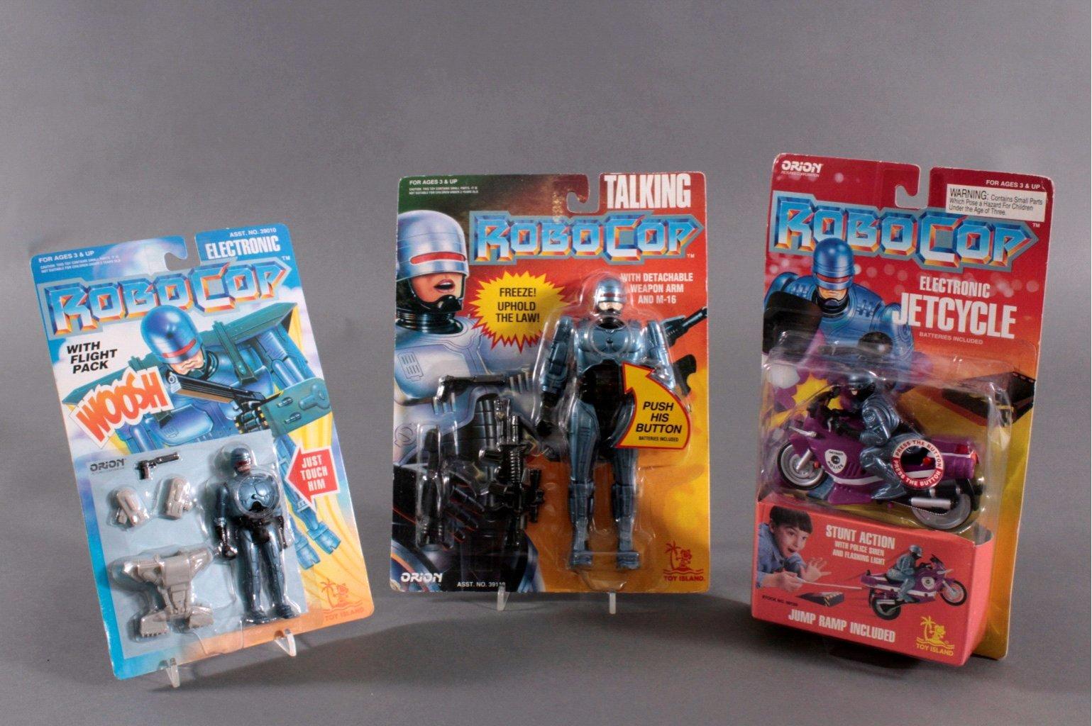 ROBOCOP Action Figuren 3 Stück