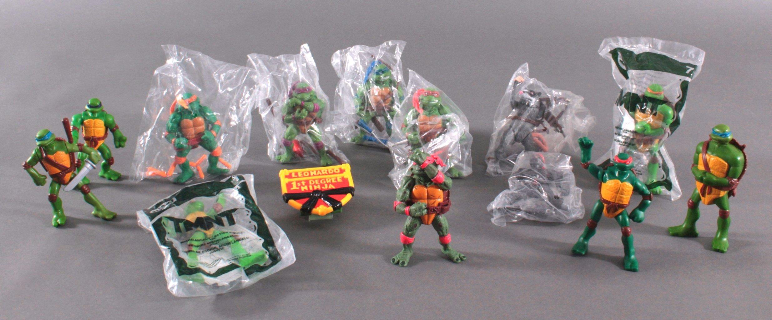 Konvolut Teenage Mutant Ninja Turtles 14 Stück