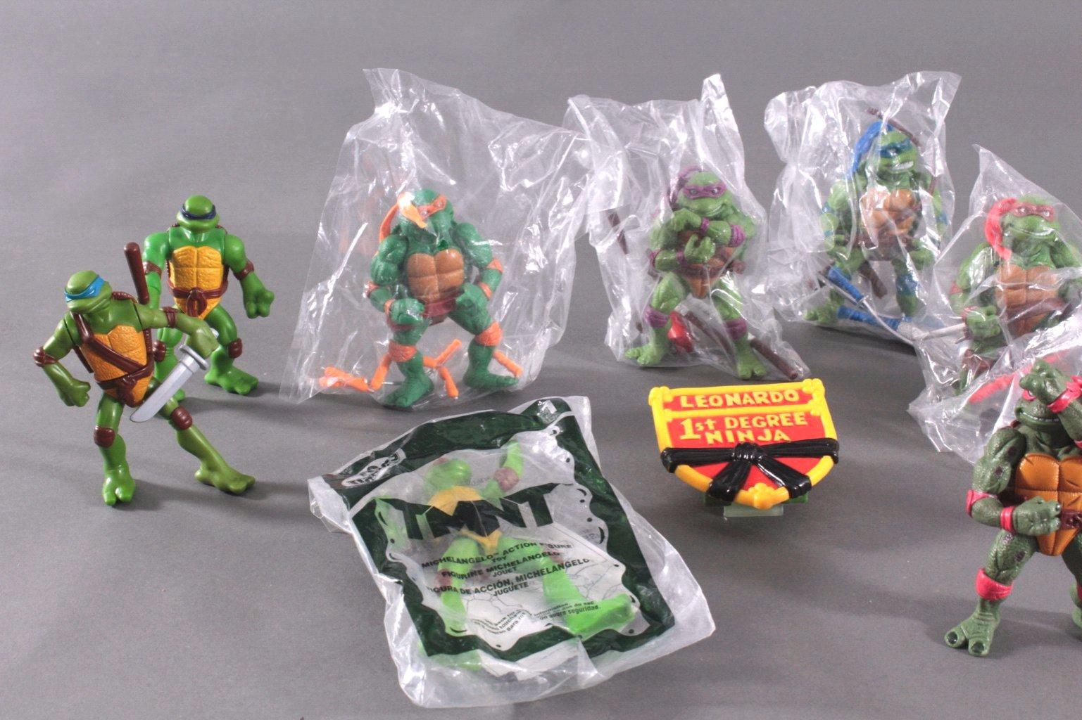 Konvolut Teenage Mutant Ninja Turtles 14 Stück-1
