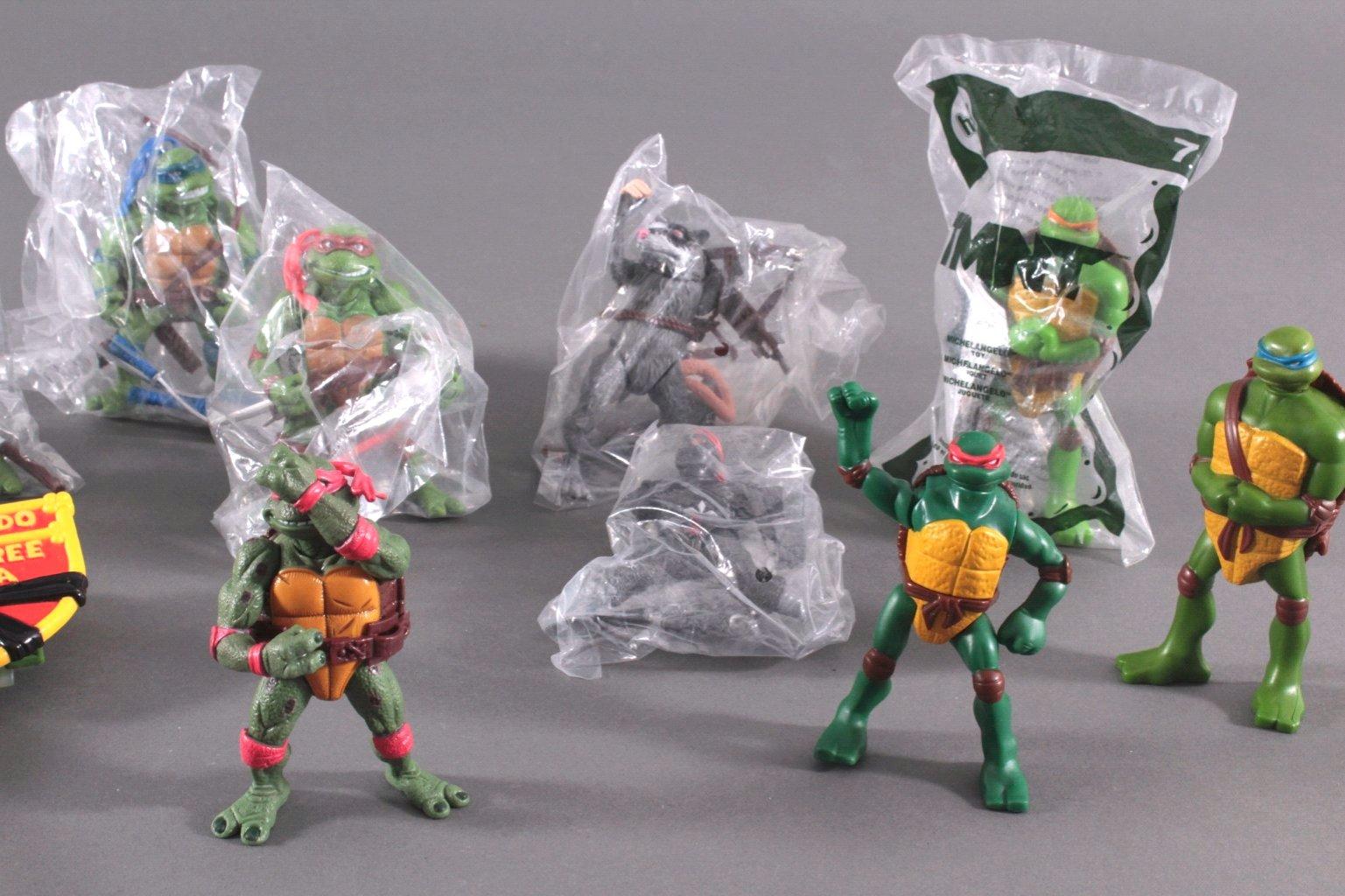 Konvolut Teenage Mutant Ninja Turtles 14 Stück-2