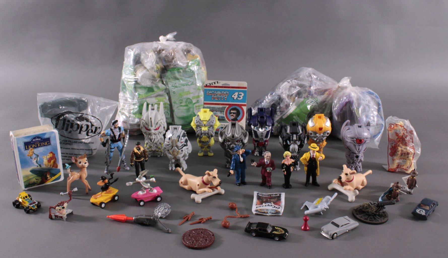 Großes Konvolut an Spielzeugfiguren