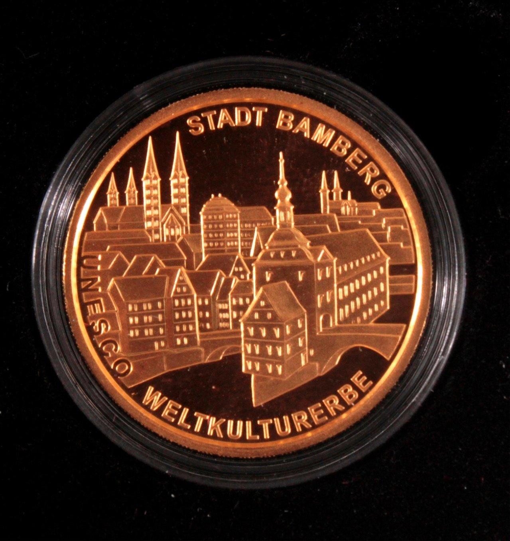 Goldmünze 100 Euro Bamberg