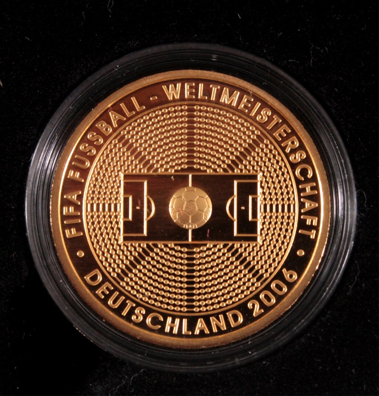 Goldmünze 100 Euro Fifa Fußball-Weltmmeisterschaft 2006