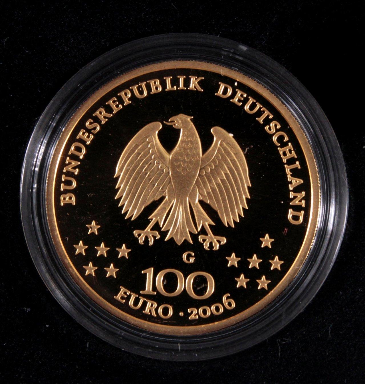 Goldmünze 100 Euro Klasisches Weimar-1