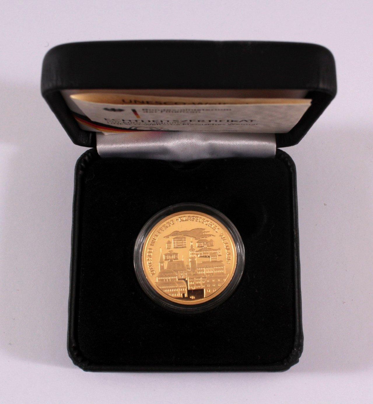 Goldmünze 100 Euro Klasisches Weimar-2