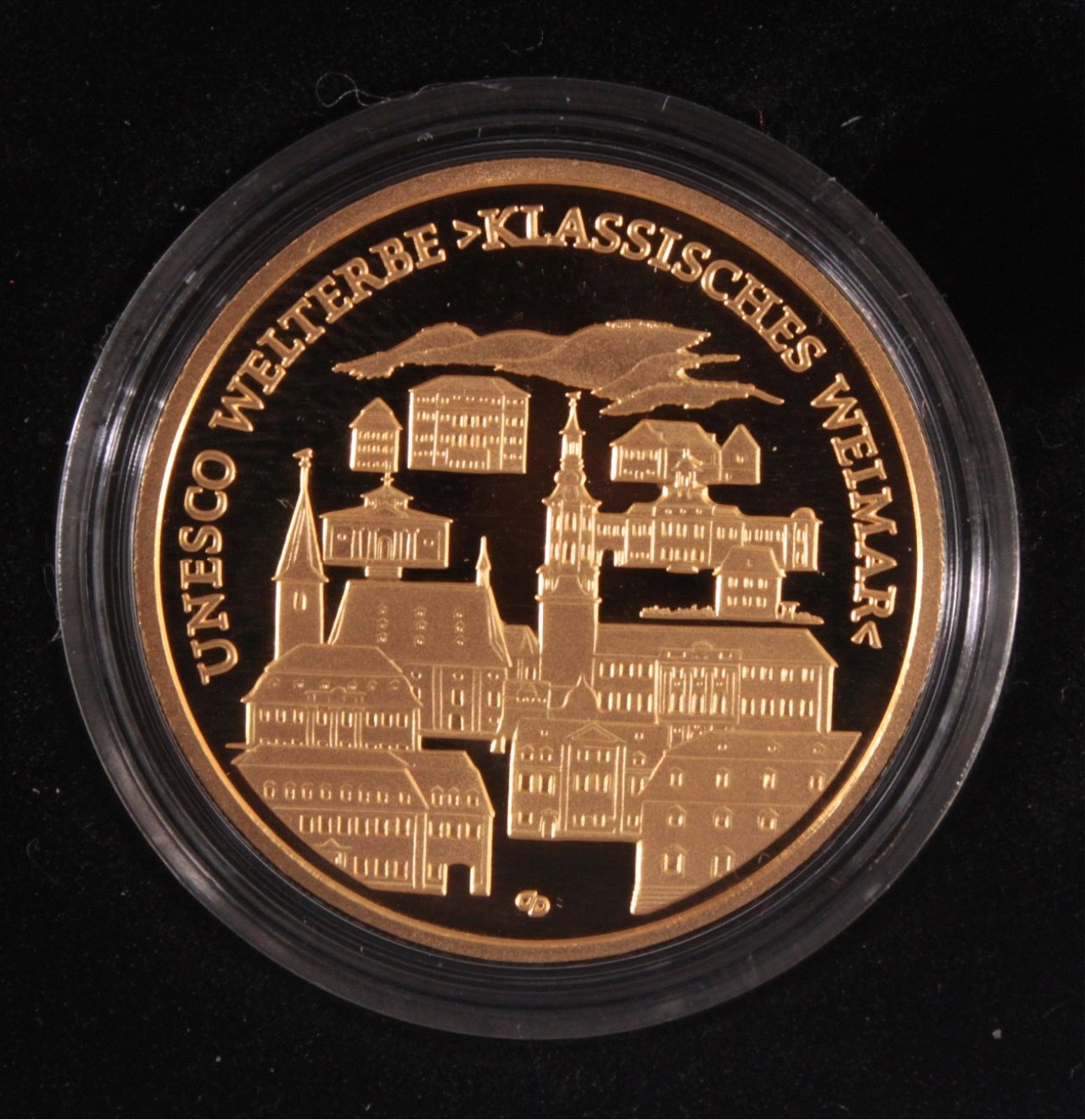 Goldmünze 100 Euro Klasisches Weimar