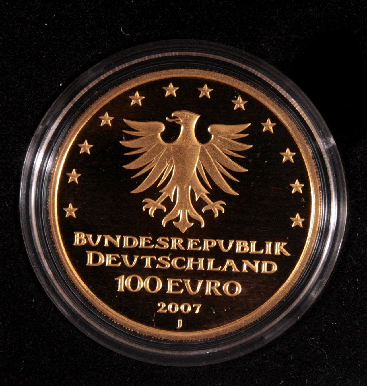 Goldmünze 100 Euro Hansestadt Lübeck