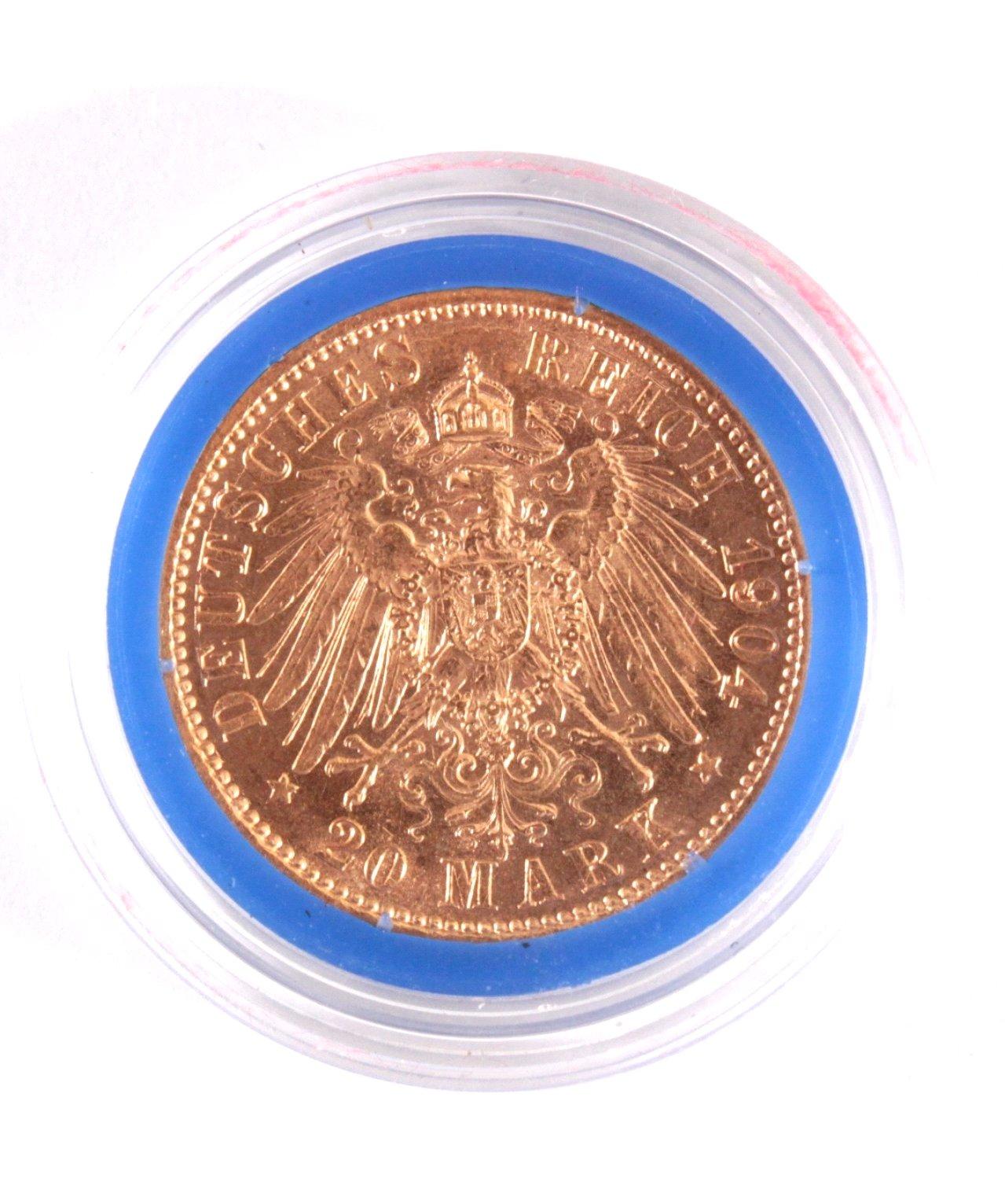 Preussen, 20 Mark 1904 A, Wilhelm II-1