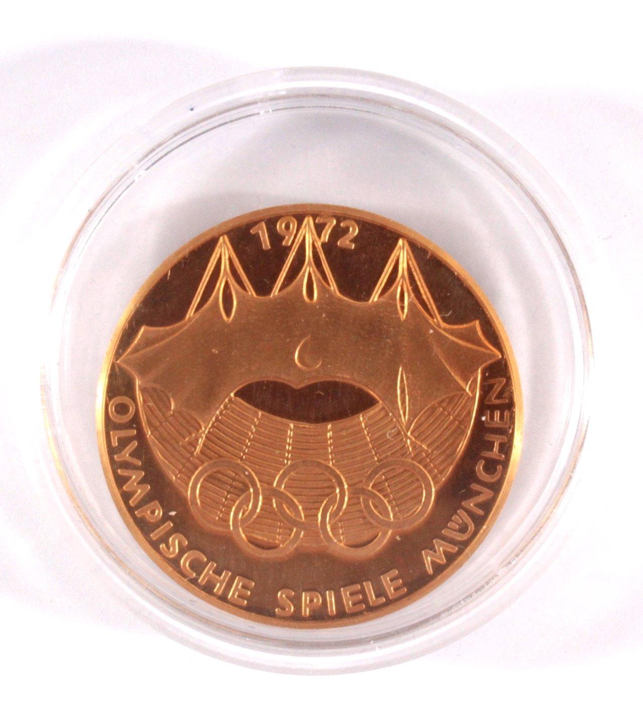 Goldmedaille olympische Spiele München 1972