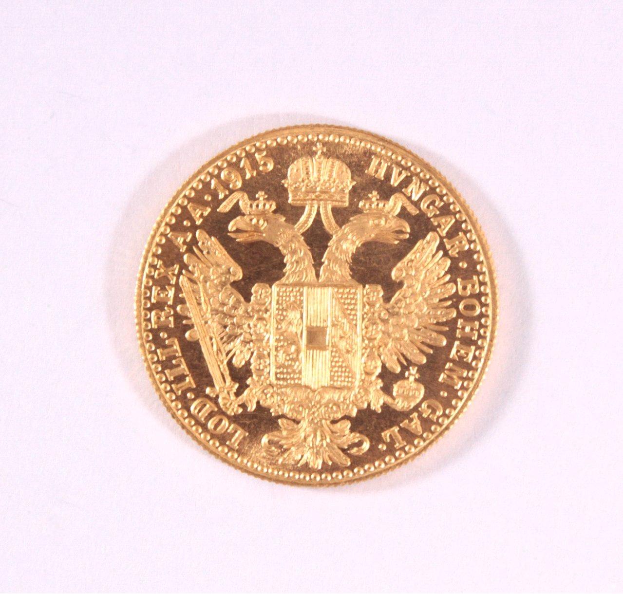 1 Golddukat Kaiser Franz Joseph 1915-1
