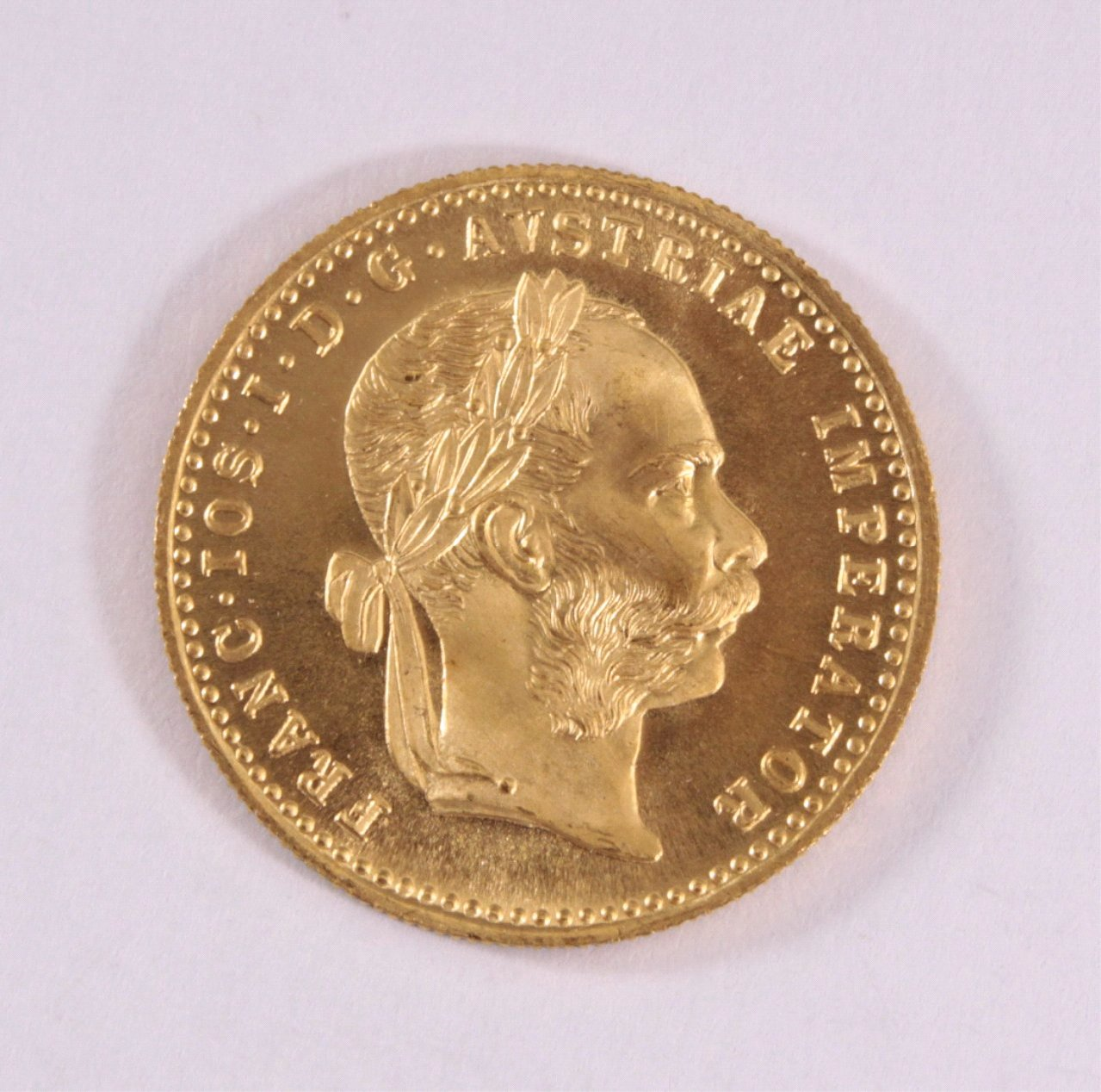 1 Golddukat Kaiser Franz Joseph 1915 Badisches Auktionshaus