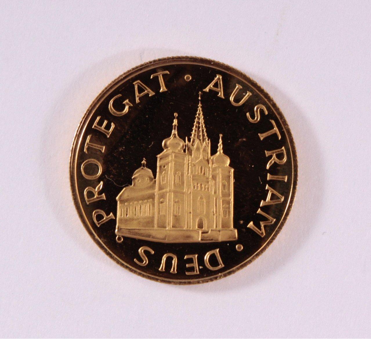 Goldmedaille 900/000 GG. Magna Mater Austriae 1963-1