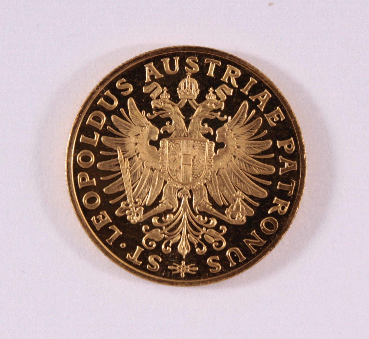 Goldmedaille 900/000 GG. Leopoldus von 1963-1