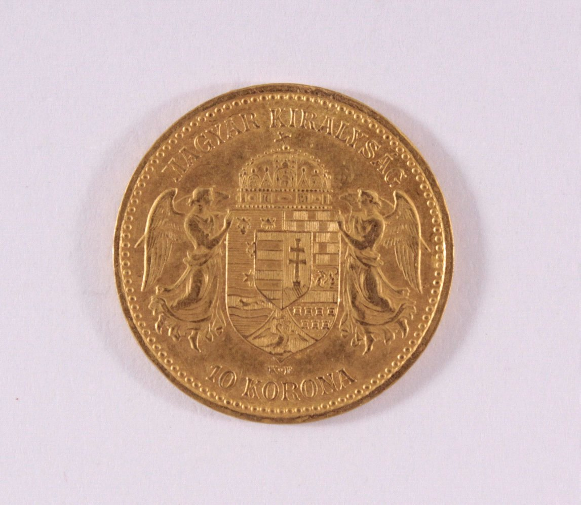 Österreich-Ungarn, 10 Korona 1894, Kursgoldmünze-1