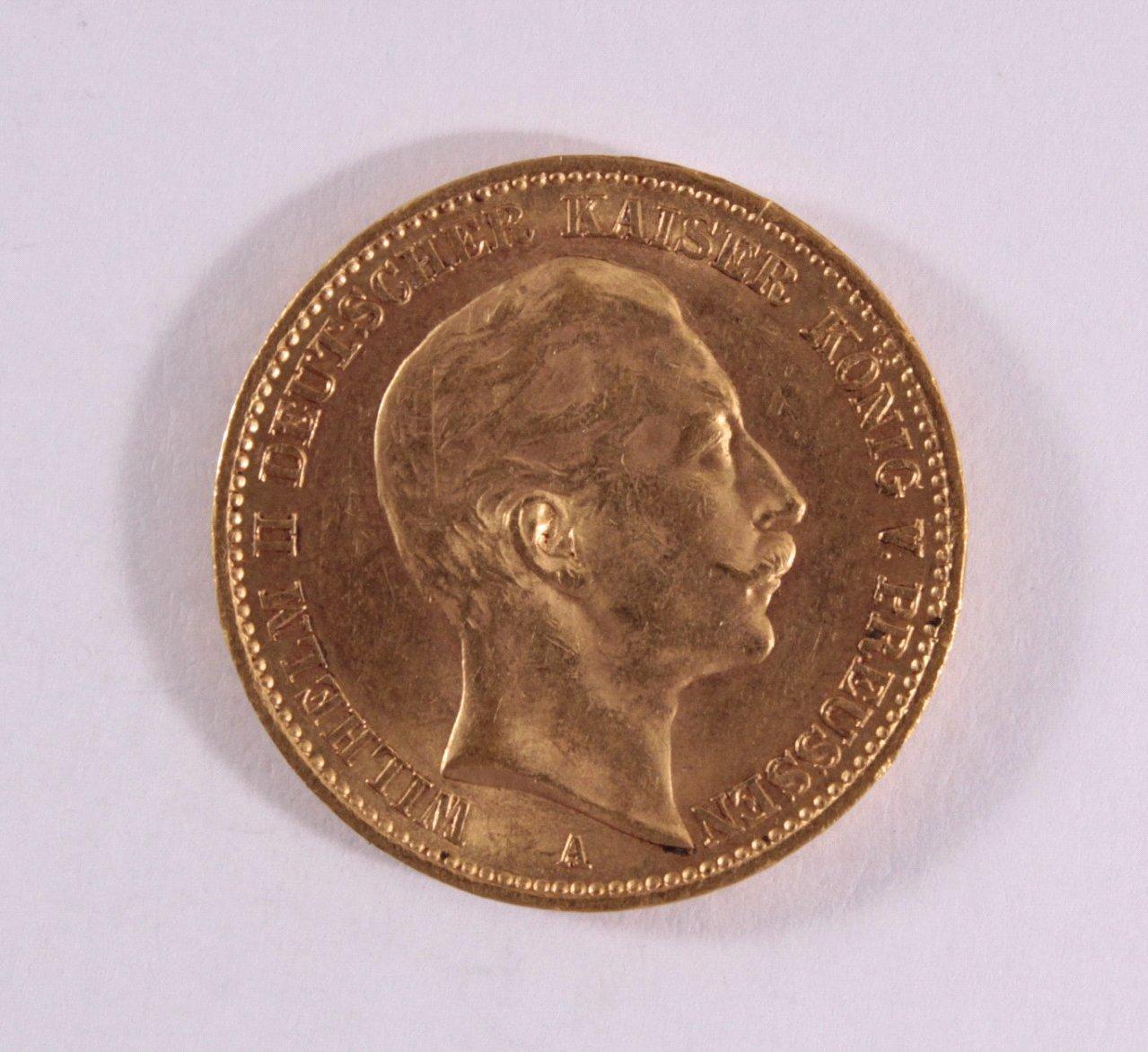 Preußen, 20 Mark Wilhelm II 1911 A