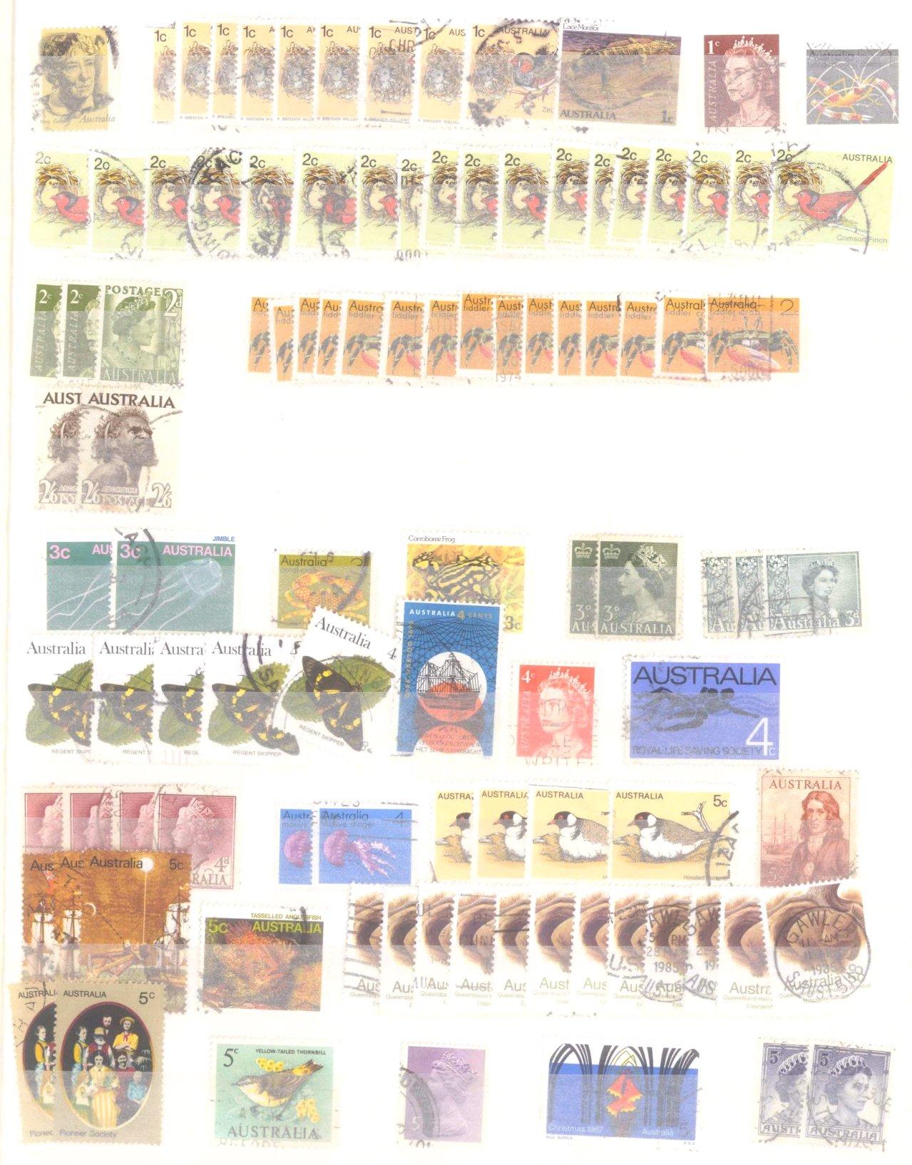 Kleiner Briefmarkennachlass Alle Welt-2