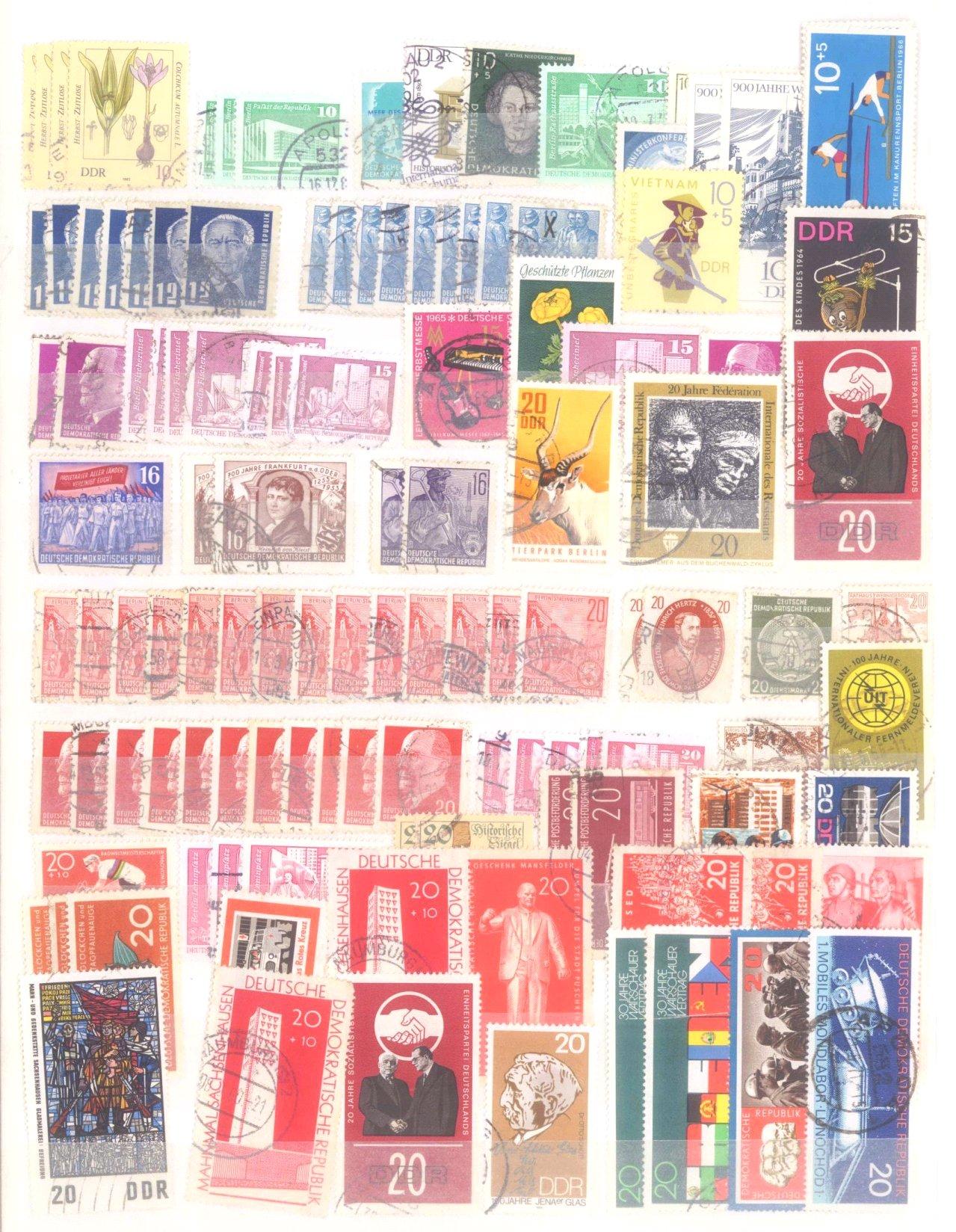 Kleiner Briefmarkennachlass Alle Welt-3
