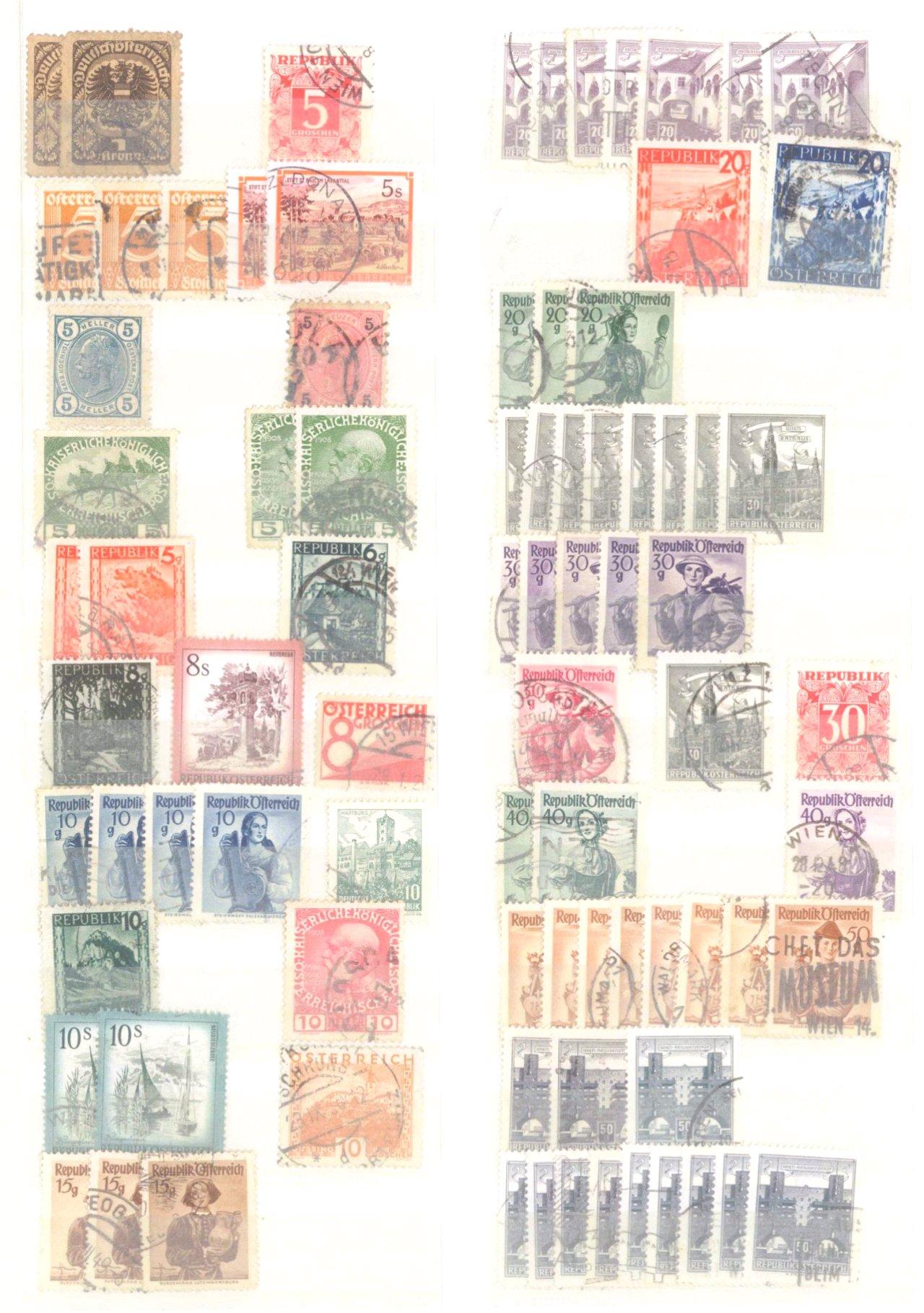 Kleiner Briefmarkennachlass Alle Welt-4