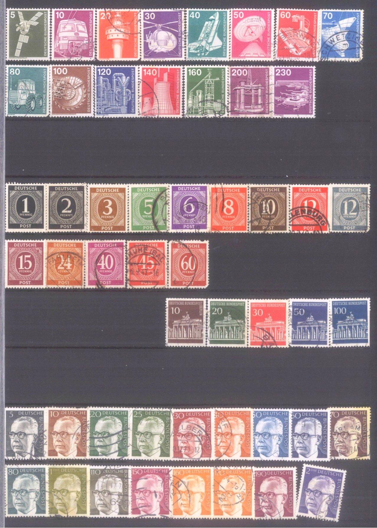 Kleiner Briefmarkennachlass Alle Welt-5