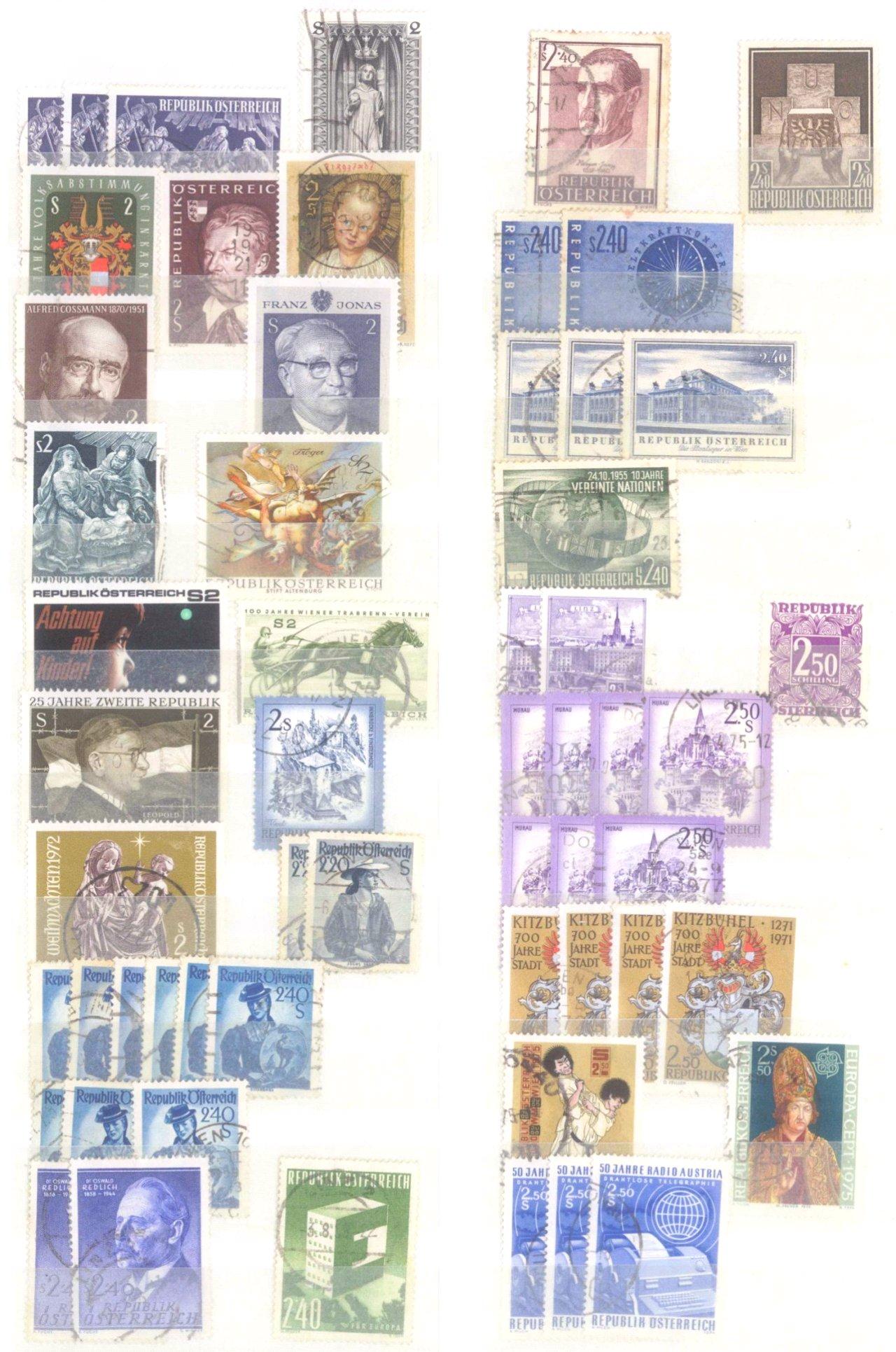 Kleiner Briefmarkennachlass Alle Welt-6