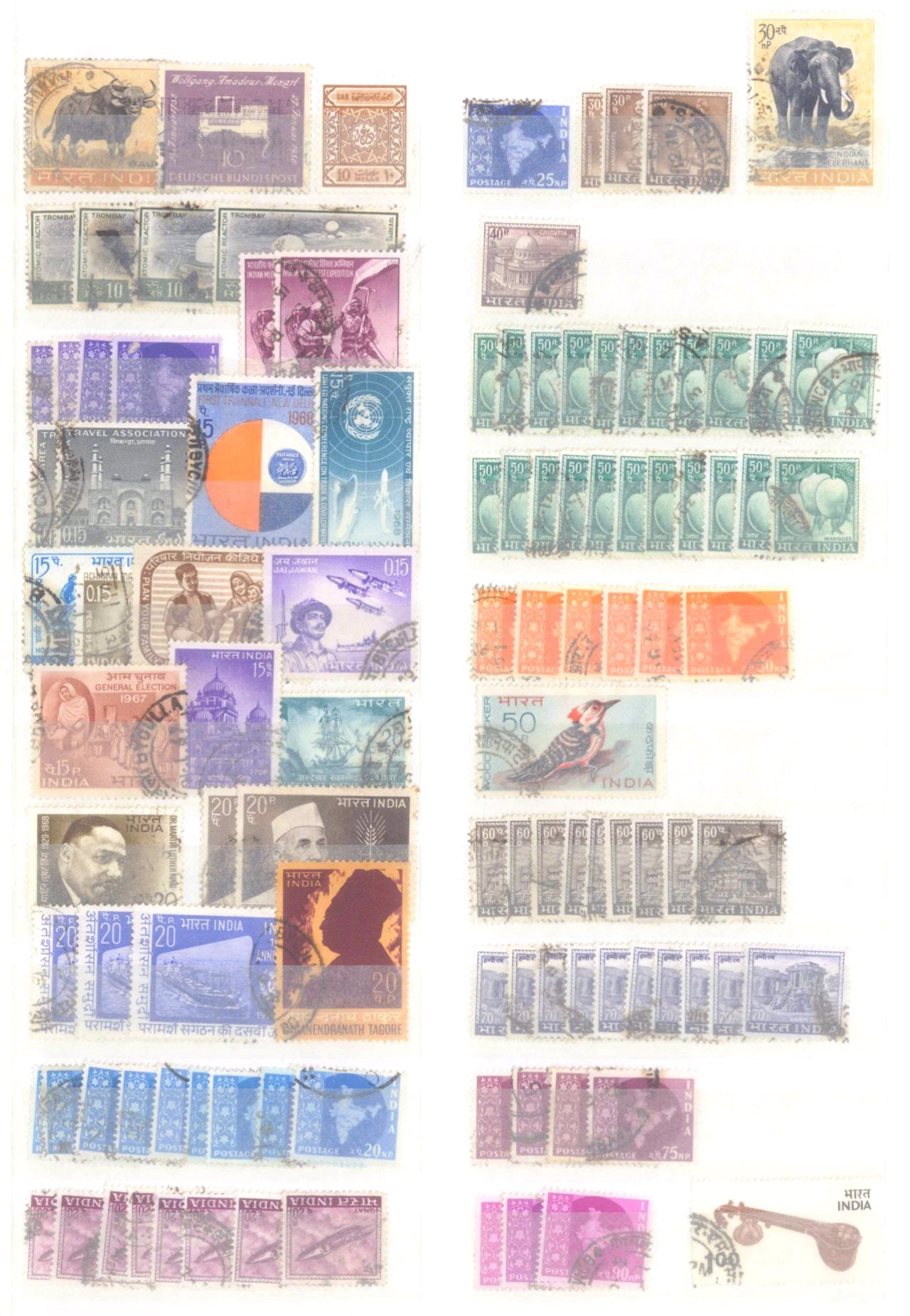 Kleiner Briefmarkennachlass Alle Welt-7