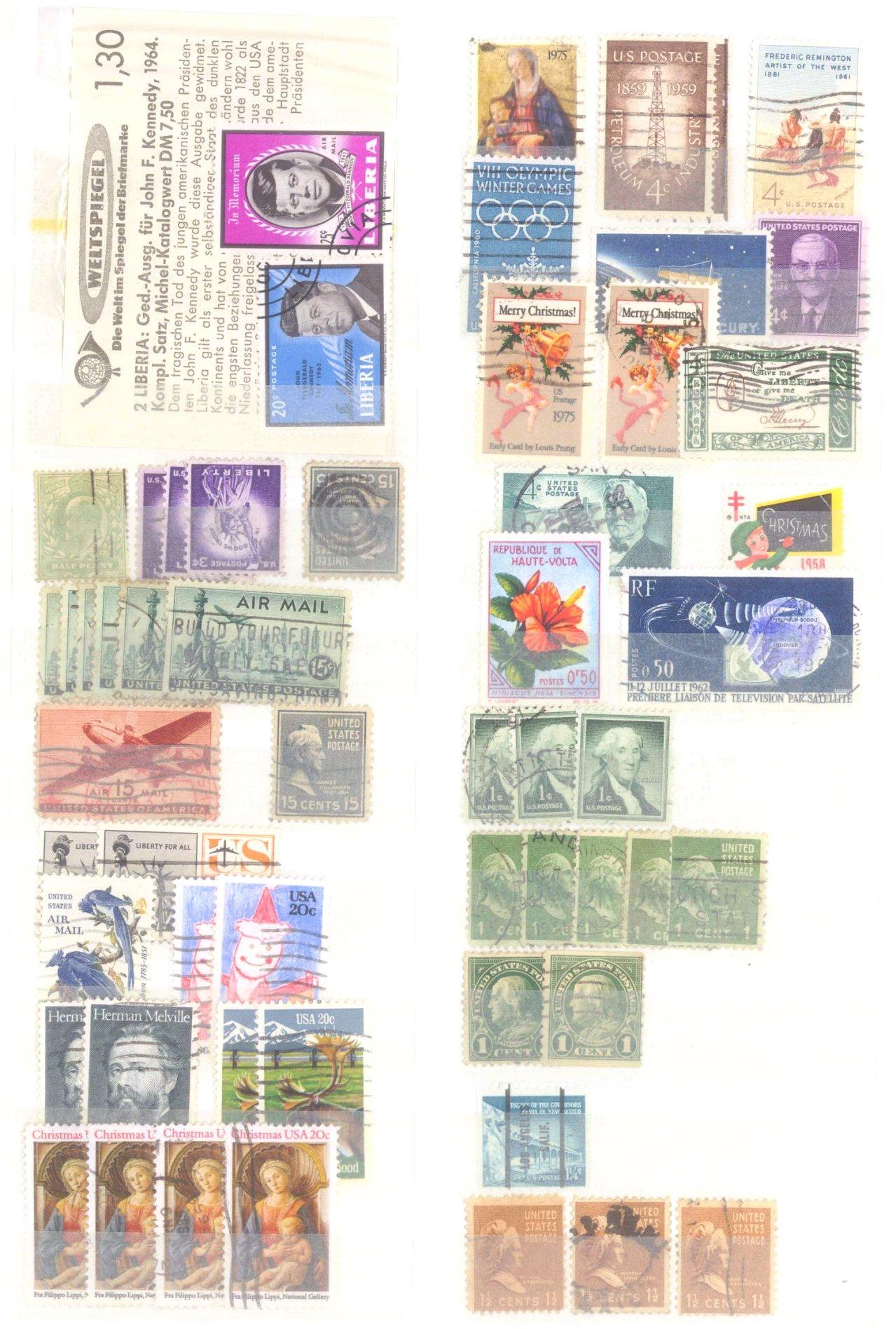 Kleiner Briefmarkennachlass Alle Welt-8