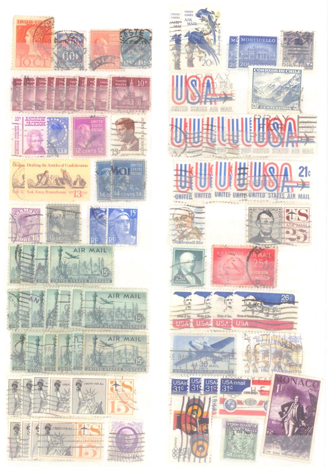 Kleiner Briefmarkennachlass Alle Welt-9
