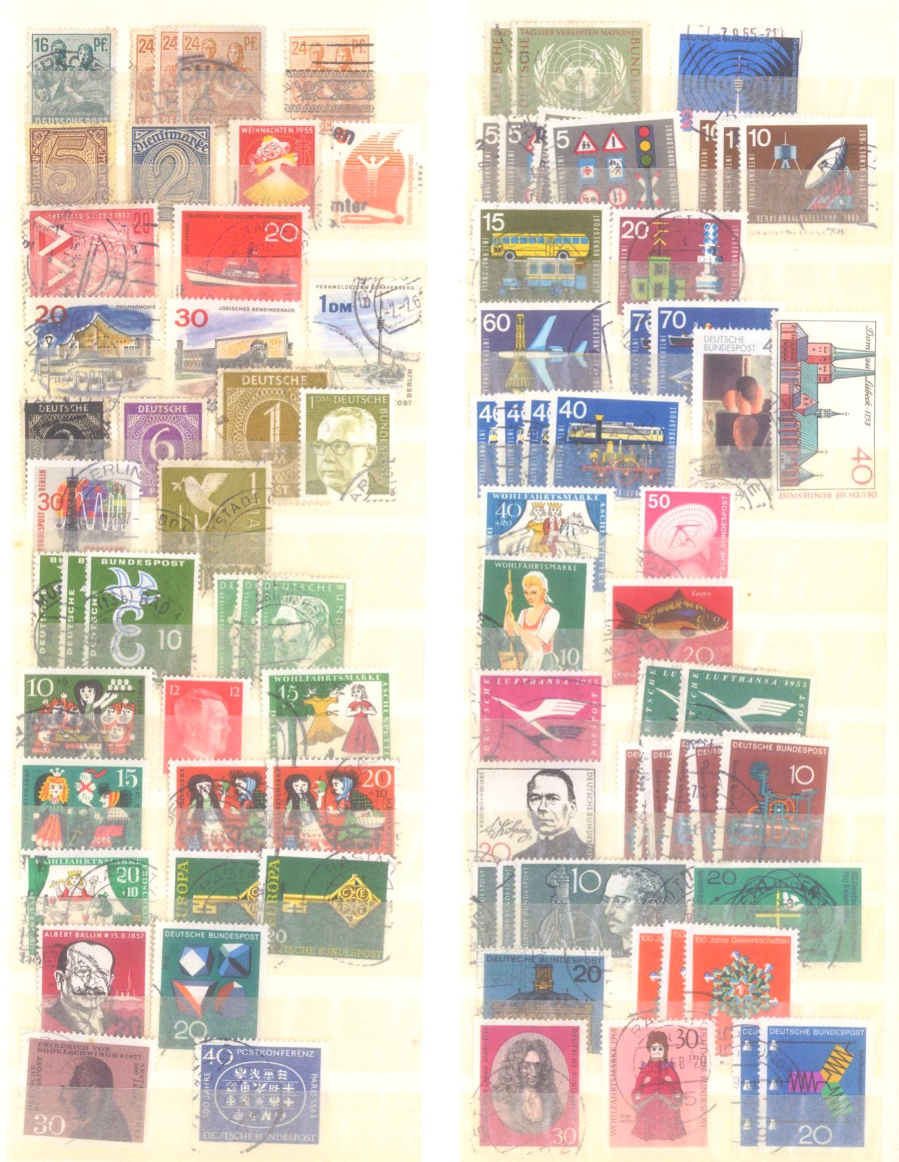 Kleiner Briefmarkennachlass Alle Welt-10