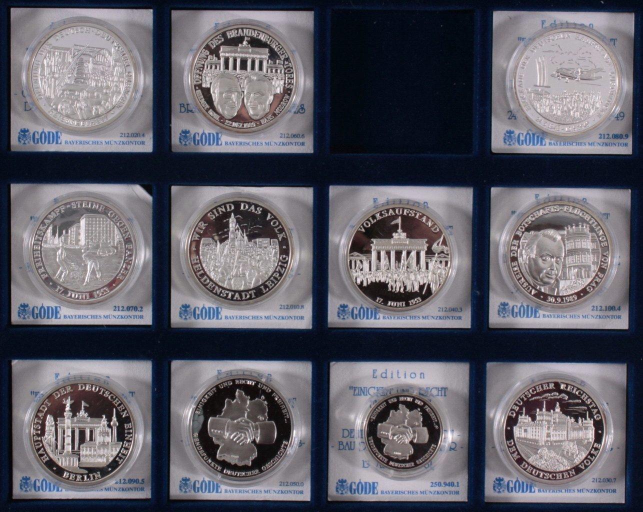 Sammlung Silbermedaillen-1