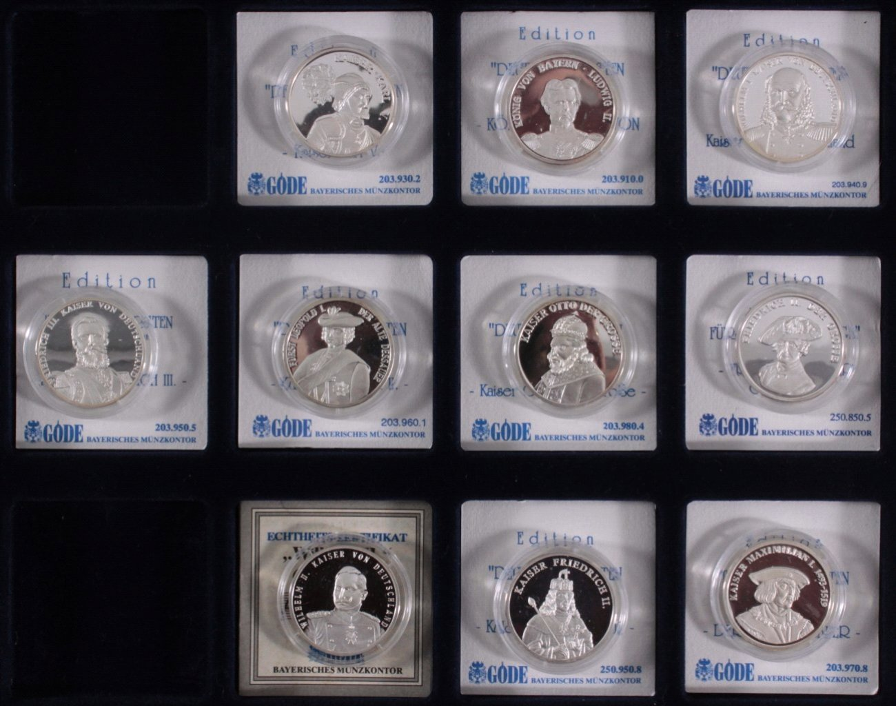 Sammlung Silbermedaillen-2