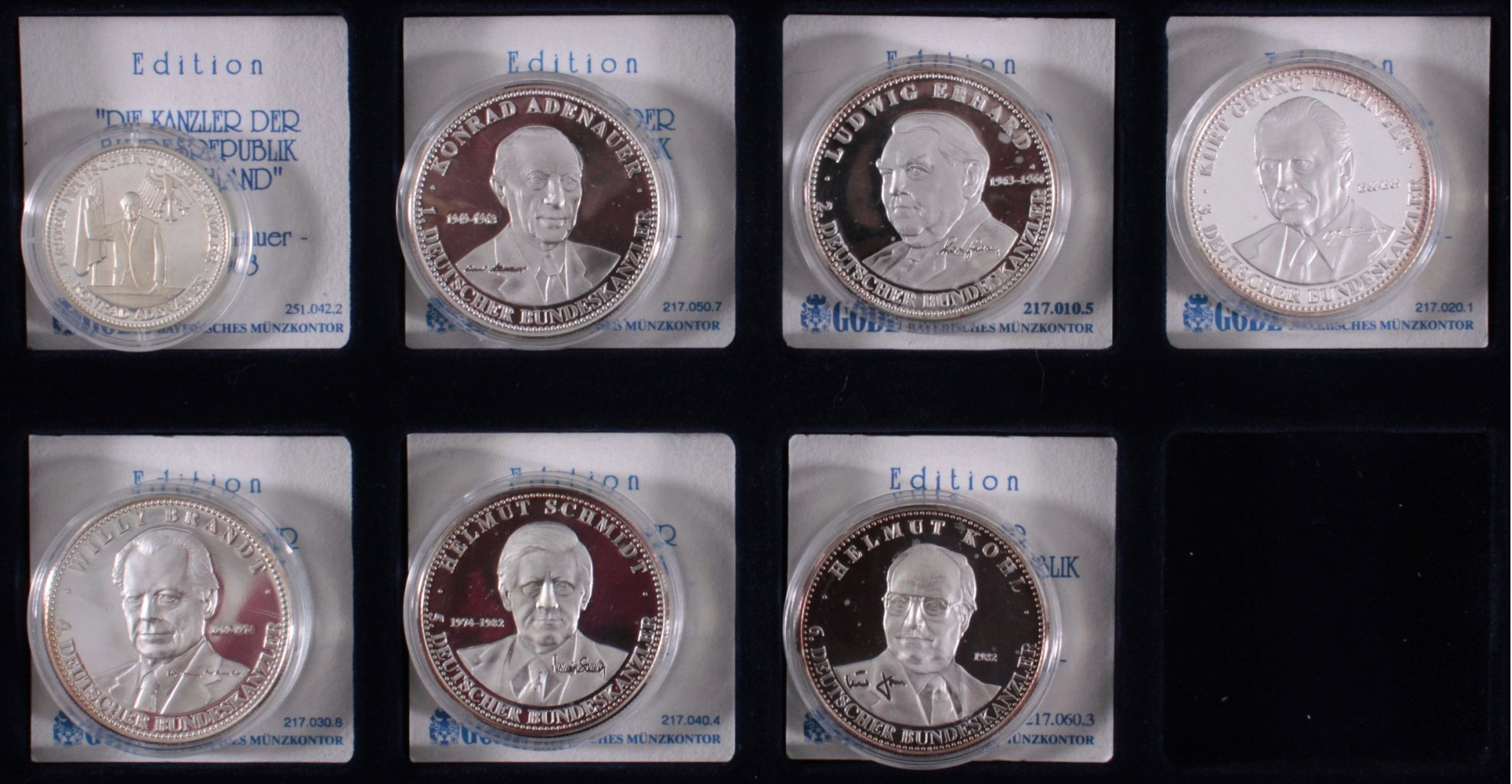 Sammlung Silbermedaillen-3