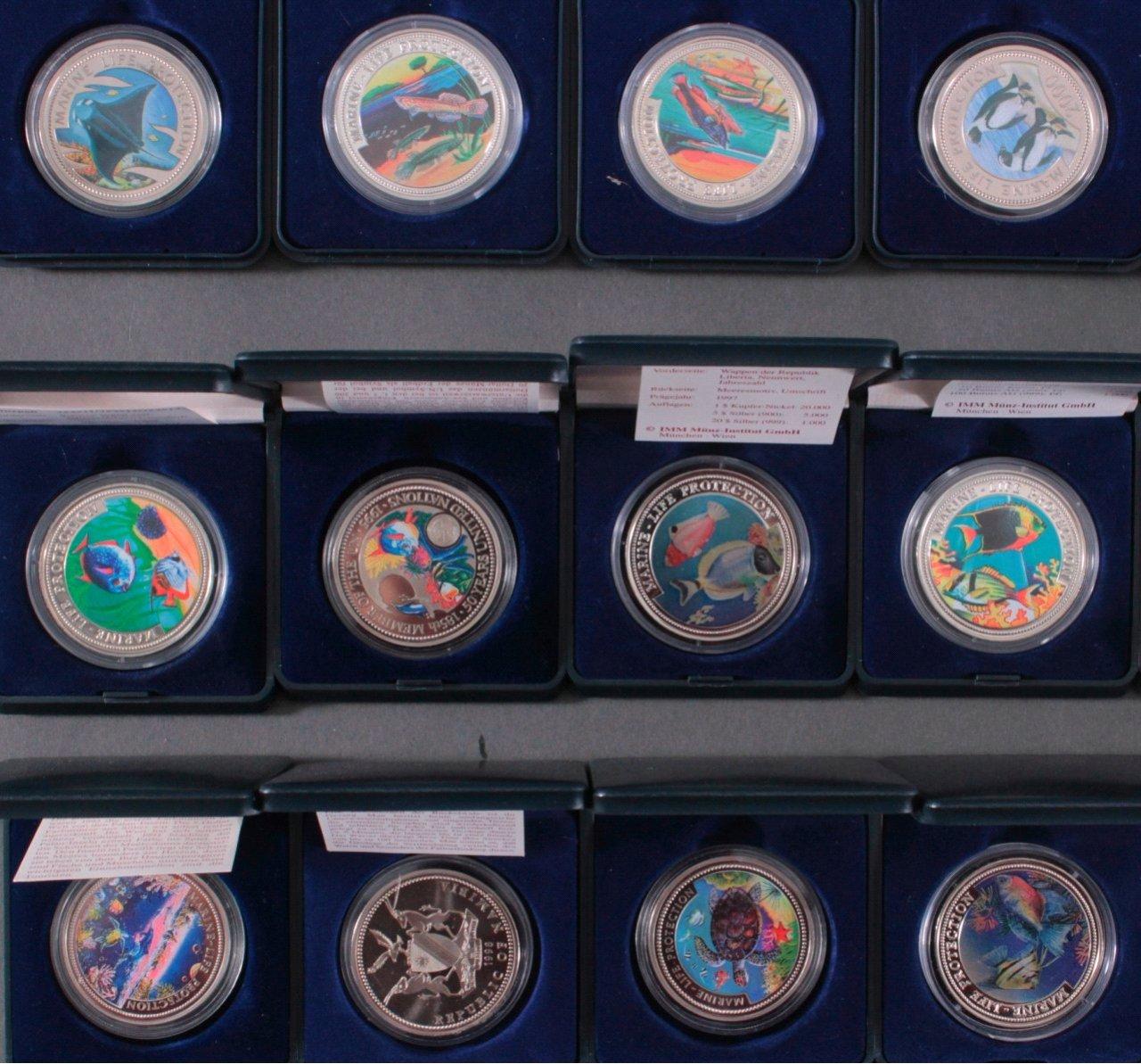 Sammlung Farbmünzen-1