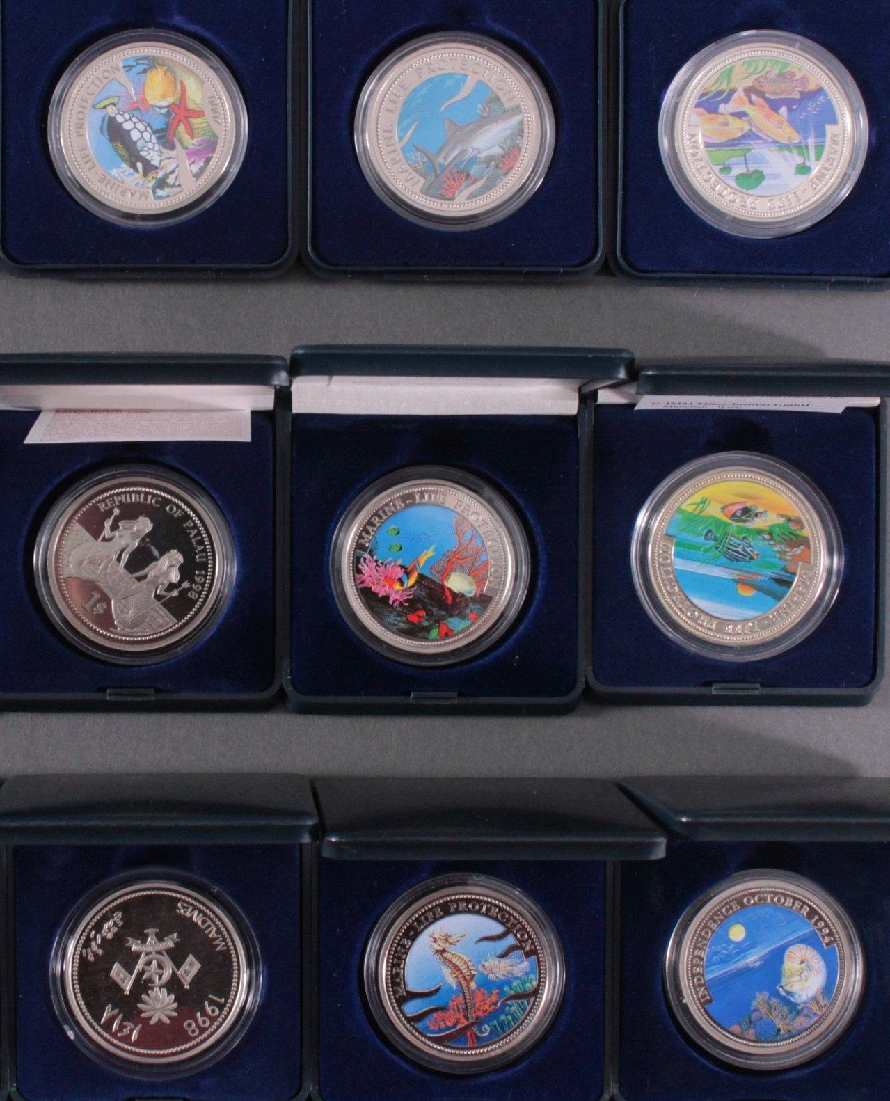 Sammlung Farbmünzen-2